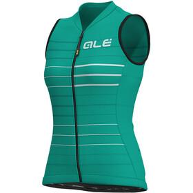 Alé Cycling Solid Ergo Camiseta sin mangas Mujer, emerald